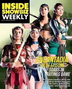 regram @glaizasforkeeps Avisala Eshma! @Regrann from @insideshowbiz -  Avisala! A bigger better stronger #Encantadia is here!  Everyones favorite fantaserye is back on Philippine TV and is set to conquer even greater heights after its debut episode scored a ratings high. Glaiza de Castro (@glaizaredux) Kylie Padilla (@kylienicolepadilla) Gabbi Garcia (@_gabbigarcia) and Sanya Lopez (@sanyalopez) are the talented actresses who are breathing new life to the the 4 coveted Sanggre roles.  Get…