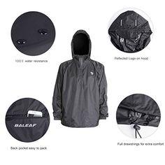Baleaf Unisex Packable Outdoor Waterproof Hooded Raincoat Jacket Poncho Rainsuit Buy New: $19.99  Saporas Clothing - Men - Jackets & Coats www.saporasclothing.com
