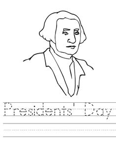 Coloring pages Presidents and Us presidents on Pinterest