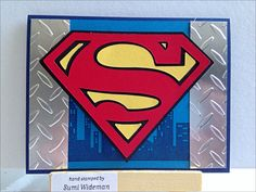 """Calling all Heroes"" Stampin Up! (Cricut hybrid)"