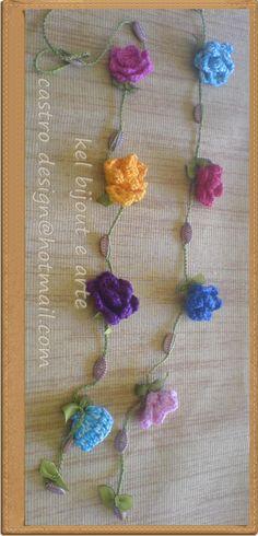 linh e flores de algodão