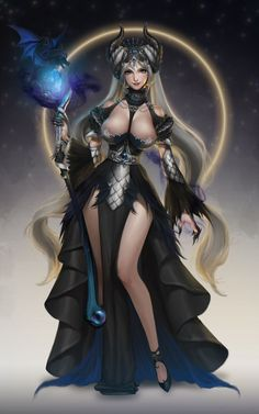 Image result for cleric of the raven queen