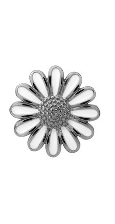 White daisy silver charm for your Endless bracelet! Coming this fall to #Orloffjewelers