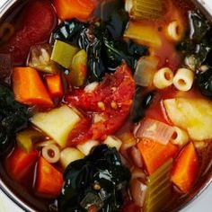 Eat Healthier and Heartier with Tomato-Vegetable Soup