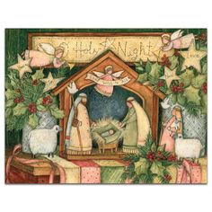 Little Church Assorted Christmas Cards , 1008100 | Lang | vintage ...