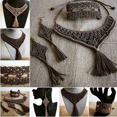 #etsybuy #macramejewelry #etsyworld #etsyhandmade #macrameset #necklacegift #bracelet #earring #etsysellerofinstagram #etsy #etsylent #cristmasgift #gifts #micromacramé #etsyseller #etsystore #etsygifts
