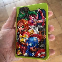 The Avengers - Notebook cover hama beads - Original design by andresgatico