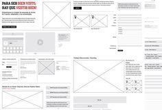 Wireframes for Illustrator.