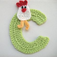 Crochet Letters A/Z Personalized Optional Applique by dimana, $8.00