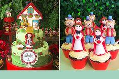 Separamos 9 itens fofos e personalizados para você fazer a festa das sua filha com o tema Chapeuzinho Vermelho. Vem ver onde encontrar