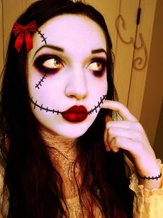 stich doll makeup | Sally Rag Doll by ceciliay on deviantART