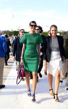 Street Style Paris Fashion Week Street Style Fashion Week Giovanna Battaglia