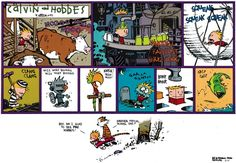 Calvin and Hobbes Comic Strip, March 17, 2013 on GoComics.com
