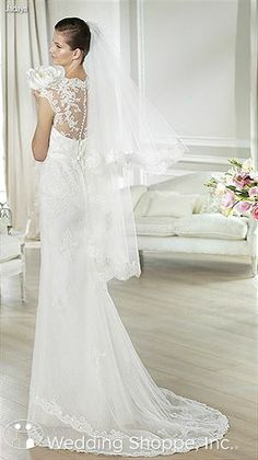 Bridal Gowns White One Jadaya Back