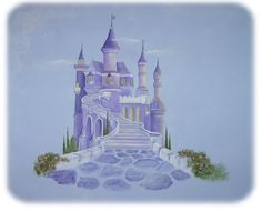 castle murals for girls bedrooms | The Wall at Sue's House