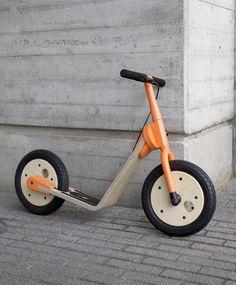 A kick scooter