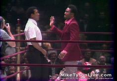 "Muhammad Ali Funniest Craziest With Frazier and Foreman. Foreman wants to slap ""The Greatest."" Muhammad Ali puts on a one man show at the Jerry Quarry vs Ernie Shavers fight at the Garden. https://youtu.be/MoWb1p5RZqQ"