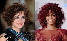 Referência de corte para cabelo cacheado. Curly Hair Cuts, Short Curly Hair, Short Hair Cuts, Curly Hair Styles, Natural Hair Styles, Deep Curly, Curly Girl, Brazilian Hair Bundles, Mid Length Hair
