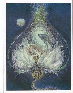 "Susan Seddon Boulet postcard -- ""Goose"""