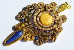 wisiorki howlit lapis lazuli orientalny sutasz kopalnie króla Salomona - wisior sutasz