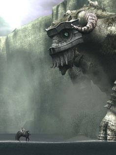Shadow of the Colossus- this is one of the most epic games ever made