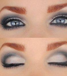 Le maquillage pour les yeux gris