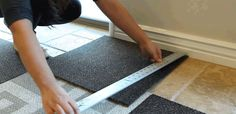 Laying carpet – tips from professionals and order of works
