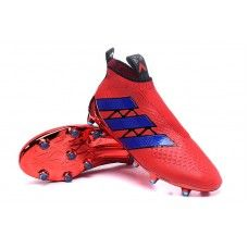 finest selection 568df 0b07f Adidas Kids ACE Purecontrol FG AG Soccer Cleats - Red Blue Black New York  for sale limited quatity in our stock, now high quality soccer hot sale  online,buy ...