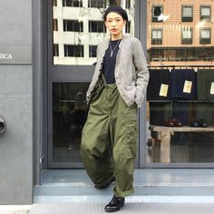 anatomica_tokyoToday's style. Jacket:anatomica#dolman Inner:anatomica#thermal Pants:#military #m51 Shoes:anatomica#alden  Beret:#military