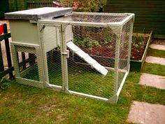 a little chicken coop