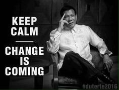 duterte for president 2016 - Google Search Current President, Running For President, President Of The Philippines, Rodrigo Duterte, Change Is Coming, All Friends, Current News, The Republic, Presidents