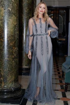 Elena Perminova in Yanina Couture - November 2016