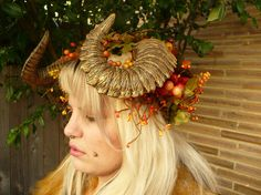 Ram Horn Headdress
