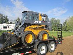 Earth Moving Equipment, Bob Cat, Heavy Equipment, Tractors, Big, Tractor
