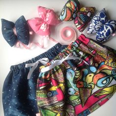 Amazing skirts & Pillow Bows