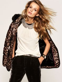 Edita Vilkeviciute is Glam in Juicy Couture's Holiday 2012 Collection | Fashion Gone Rogue: The Latest in Editorials and Campaigns