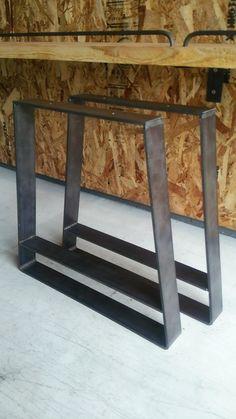 アイアン 鉄脚 ベンチ・椅子用|テーブル・机|em-ironworks|ハンドメイド通販・販売のCreema