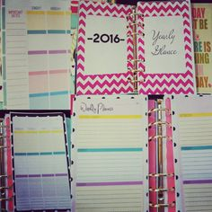 Free A5 Planner Inserts – Notes Page & Password List