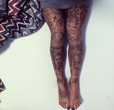 15 Gorgeous Leg Tattoos For Women