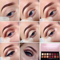 Step by step tutorial using the Modern Renaissance palette @jadetmakeup_ #anastasiabeverlyhills #modernrenaissance