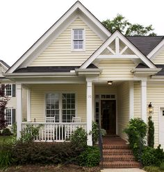 Craftsman Home Photos   Home Exterior Needs A TON Of Help!!   Home  Decorating · Yellow House ...