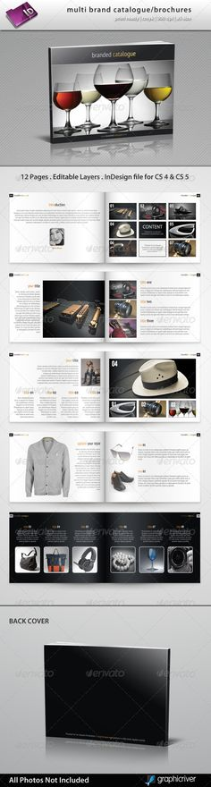 Multi Brand Catalogue/Brochure - GraphicRiver Item for Sale