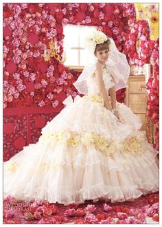 Wedding Dress by Stella de Libero