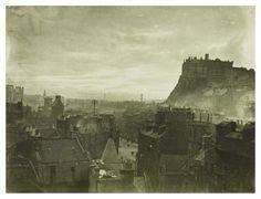 Edinburgh Castle ( old picture )  Gareth vive qui : )