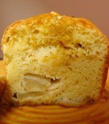 Receitas - Bolo de maçã simples - Petiscos.com