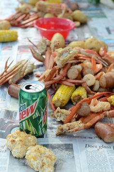 Father's Day Crab Boil // Tysons Birthday Week