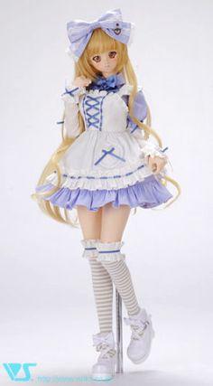 Volks Doll Party 29 Limited Dollfie Dream Sugar Milk Heart Set SD DDS DD Dddy | eBay