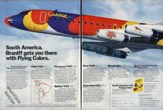 Braniff and the Flying Colors DC-8