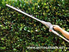 Tagliasiepi AMA multifunzione, braccio lungo, barra di taglio regolabile in più posizioni.  Ottimo per il taglio in parete e siepi molto alte.  http://www.motogarden.net/decespugliatori/2tempi-multi/tosasiepi-per-sistema-multifunzione-ama