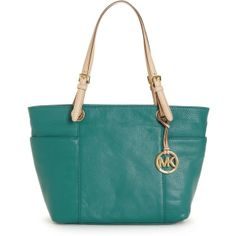It's a must-have item season after season. A classic leather tote from MICHAEL Michael Kors that's easy, effortless and always in style. MICHAEL Michael Kors Bag.
